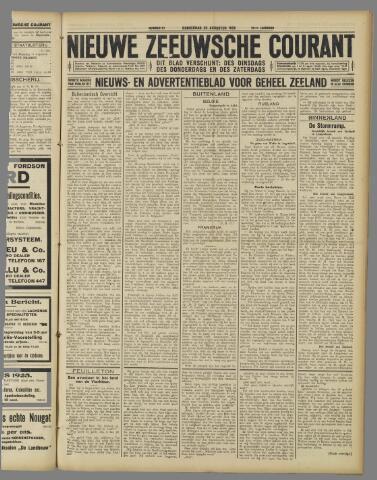 Nieuwe Zeeuwsche Courant 1925-08-20
