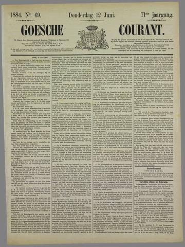Goessche Courant 1884-06-12