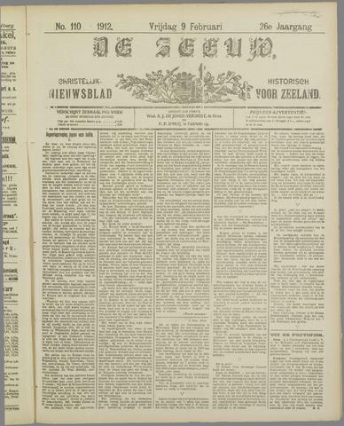 De Zeeuw. Christelijk-historisch nieuwsblad voor Zeeland 1912-02-09