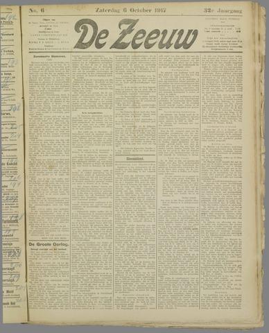 De Zeeuw. Christelijk-historisch nieuwsblad voor Zeeland 1917-10-06