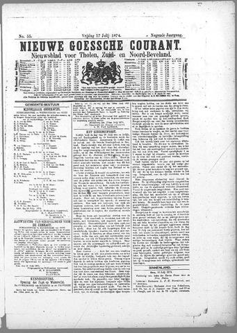 Nieuwe Goessche Courant 1874-07-17