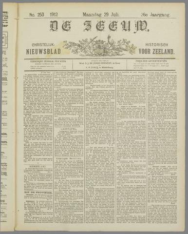 De Zeeuw. Christelijk-historisch nieuwsblad voor Zeeland 1912-07-29
