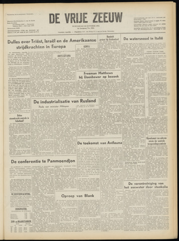 de Vrije Zeeuw 1953-10-28