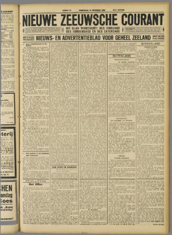 Nieuwe Zeeuwsche Courant 1928-11-22