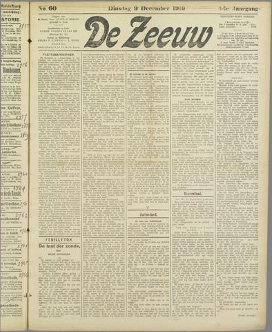 De Zeeuw. Christelijk-historisch nieuwsblad voor Zeeland 1919-12-09