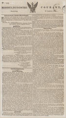 Middelburgsche Courant 1832-08-30