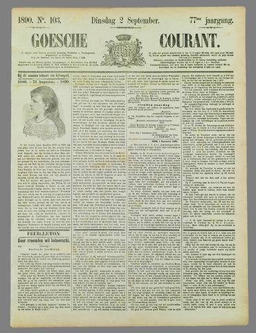 Goessche Courant 1890-09-02