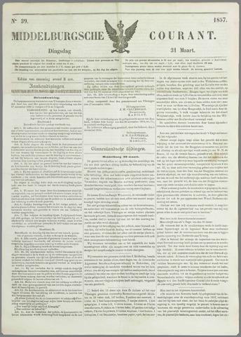 Middelburgsche Courant 1857-03-31
