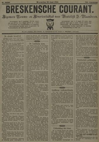 Breskensche Courant 1915-06-16