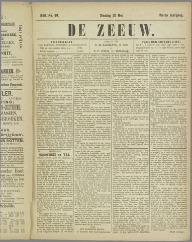 De Zeeuw. Christelijk-historisch nieuwsblad voor Zeeland 1890-05-20