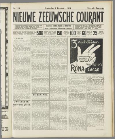 Nieuwe Zeeuwsche Courant 1913-12-04