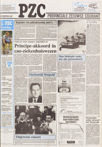 Provinciale Zeeuwse Courant 1989-06-24