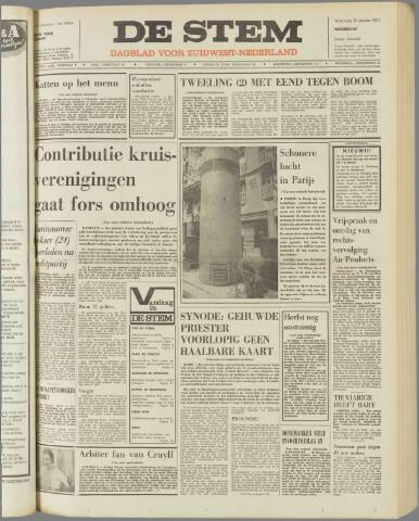 de Stem 1971-10-20