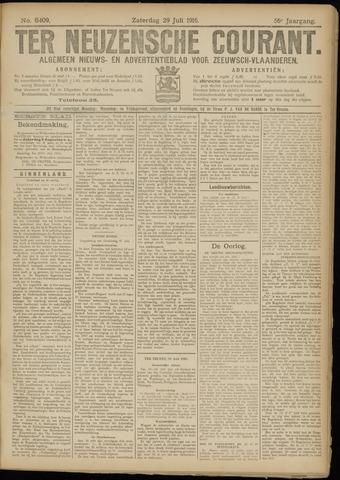 Ter Neuzensche Courant. Algemeen Nieuws- en Advertentieblad voor Zeeuwsch-Vlaanderen / Neuzensche Courant ... (idem) / (Algemeen) nieuws en advertentieblad voor Zeeuwsch-Vlaanderen 1916-07-29