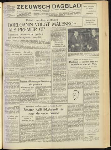 Zeeuwsch Dagblad 1955-02-09