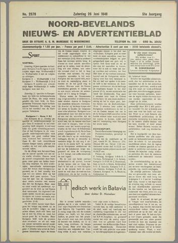 Noord-Bevelands Nieuws- en advertentieblad 1948-06-26