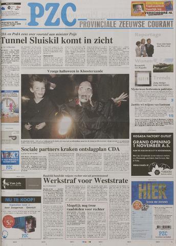 Provinciale Zeeuwse Courant 2006-10-28