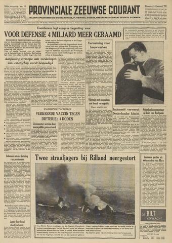 Provinciale Zeeuwse Courant 1958-01-14