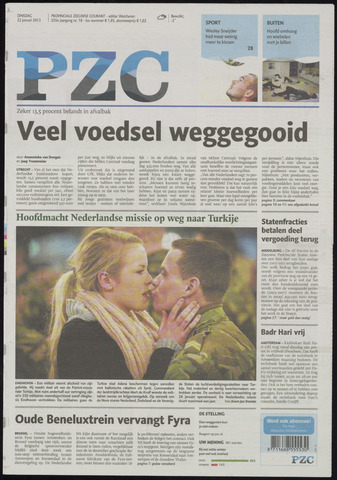 Provinciale Zeeuwse Courant 2013-01-22