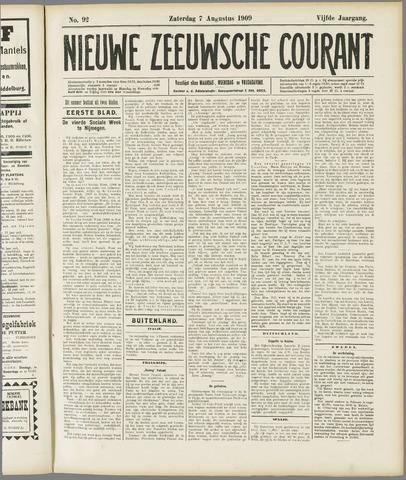 Nieuwe Zeeuwsche Courant 1909-08-07