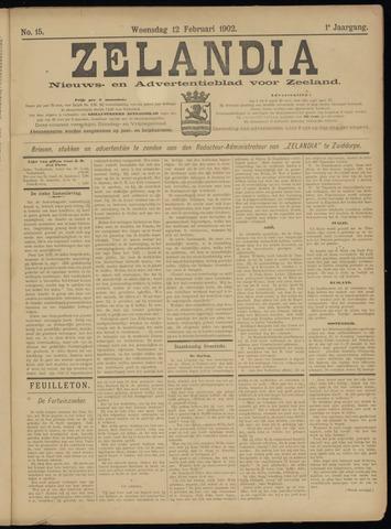 Zelandia. Nieuws-en advertentieblad voor Zeeland | edities: Het Land van Hulst en De Vier Ambachten 1902-02-12