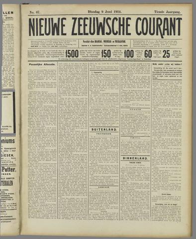 Nieuwe Zeeuwsche Courant 1914-06-09