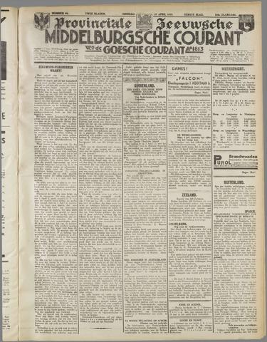 Middelburgsche Courant 1937-04-27