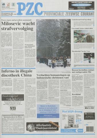 Provinciale Zeeuwse Courant 2000-12-27