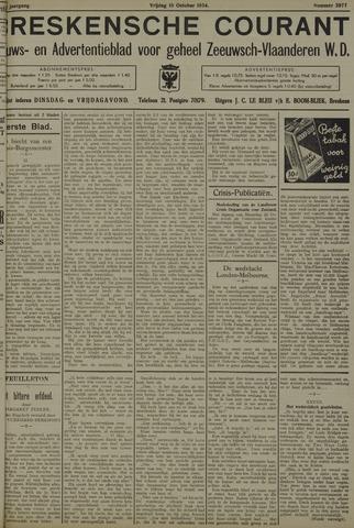 Breskensche Courant 1934-10-19