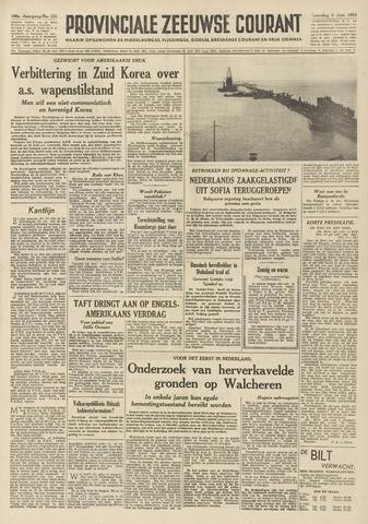 Provinciale Zeeuwse Courant 1953-06-06