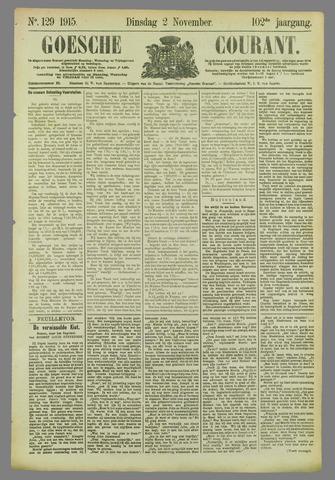 Goessche Courant 1915-11-02