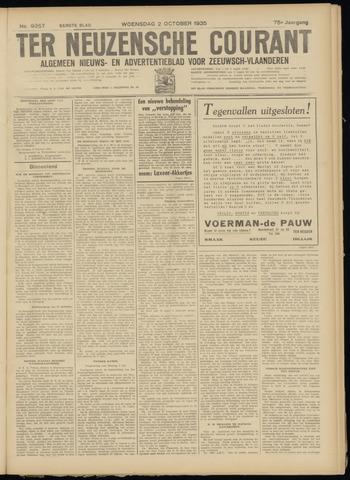 Ter Neuzensche Courant. Algemeen Nieuws- en Advertentieblad voor Zeeuwsch-Vlaanderen / Neuzensche Courant ... (idem) / (Algemeen) nieuws en advertentieblad voor Zeeuwsch-Vlaanderen 1935-10-02