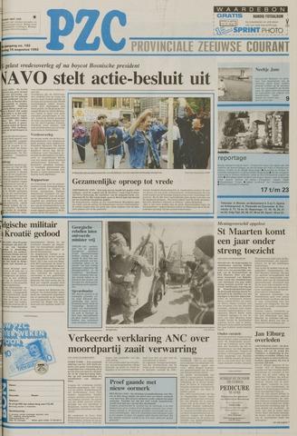 Provinciale Zeeuwse Courant 1992-08-15