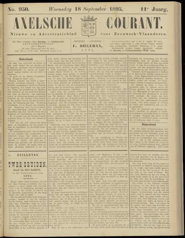 Axelsche Courant 1895-09-18