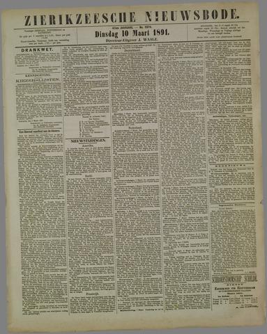 Zierikzeesche Nieuwsbode 1891-03-10