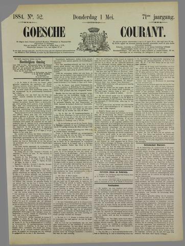 Goessche Courant 1884-05-01