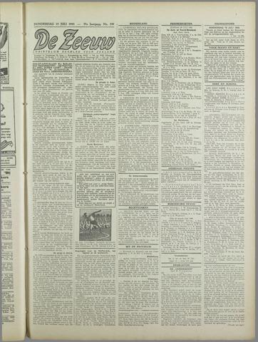 De Zeeuw. Christelijk-historisch nieuwsblad voor Zeeland 1943-07-15