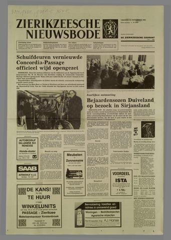 Zierikzeesche Nieuwsbode 1985-11-15
