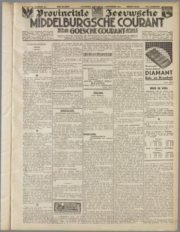 Middelburgsche Courant 1933-11-04