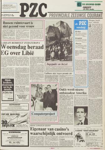 Provinciale Zeeuwse Courant 1986-04-12