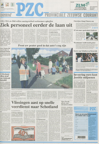 Provinciale Zeeuwse Courant 2001-06-19