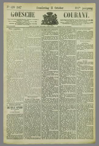 Goessche Courant 1917-10-11