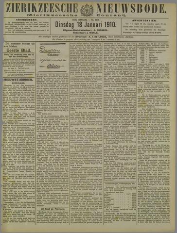 Zierikzeesche Nieuwsbode 1910-01-18