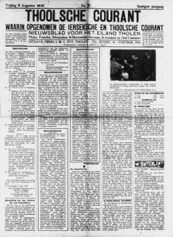 Ierseksche en Thoolsche Courant 1943-08-06