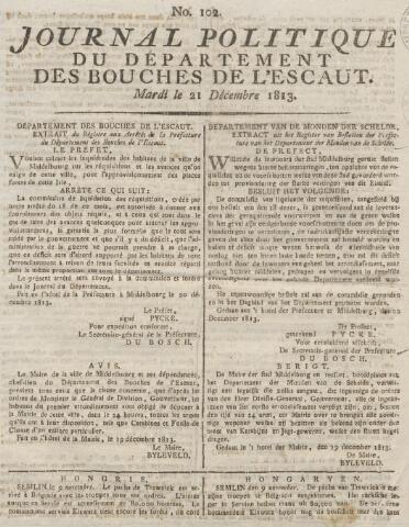 Middelburgsche Courant 1813-12-21