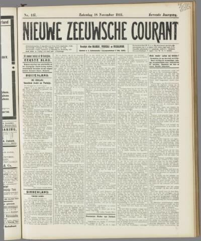 Nieuwe Zeeuwsche Courant 1911-11-18