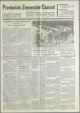 Provinciale Zeeuwse Courant 1940-11-07