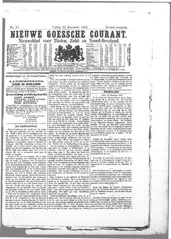Nieuwe Goessche Courant 1872-11-22
