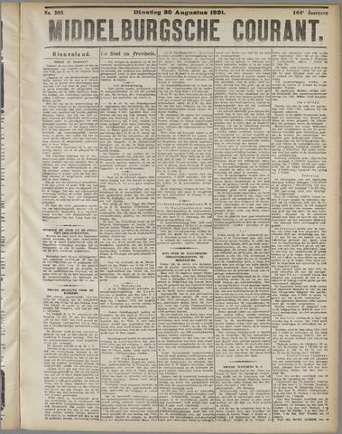Middelburgsche Courant 1921-08-30