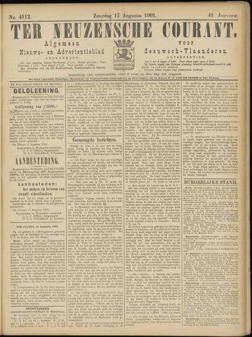 Ter Neuzensche Courant. Algemeen Nieuws- en Advertentieblad voor Zeeuwsch-Vlaanderen / Neuzensche Courant ... (idem) / (Algemeen) nieuws en advertentieblad voor Zeeuwsch-Vlaanderen 1901-08-17